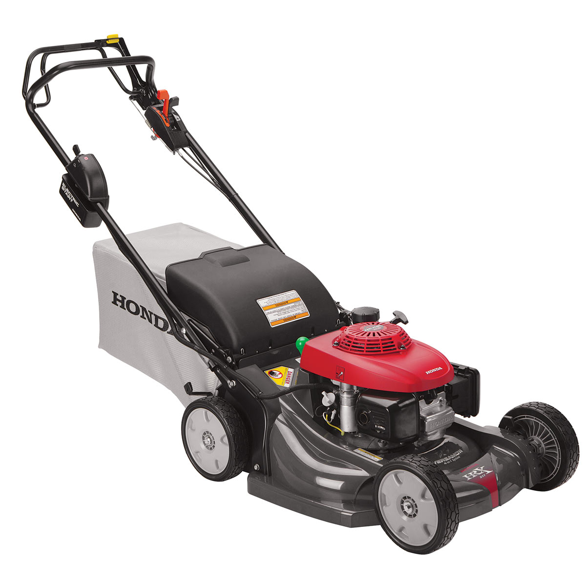 """Honda markets its mowers as being """"very smart,"""" and sells the HRX lineup as  one of the higher-end walk behind models available to consumers."""