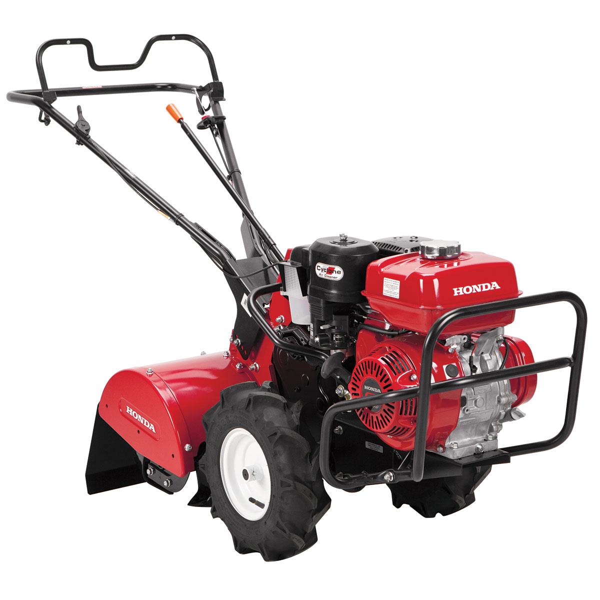 Garden Tiller Wheels : How to service a honda rear tine tiller lawn parts