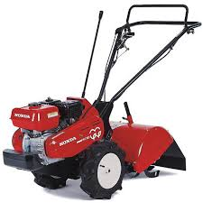 Guide to using the Honda FR750 Tiller