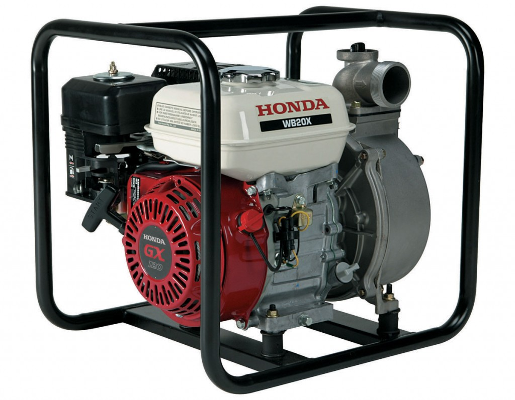 Commercial Use Of Honda Wb20  U0026 Wb30 Water Pumps