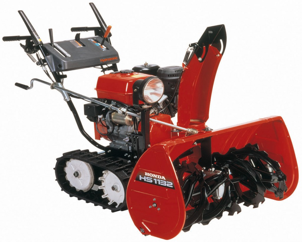 HS928 and 1132 Two Stage Snowblowers | Honda Lawn Parts Blog