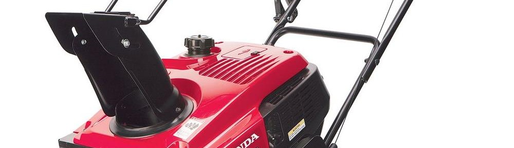 Honda Single Stage Snowblower