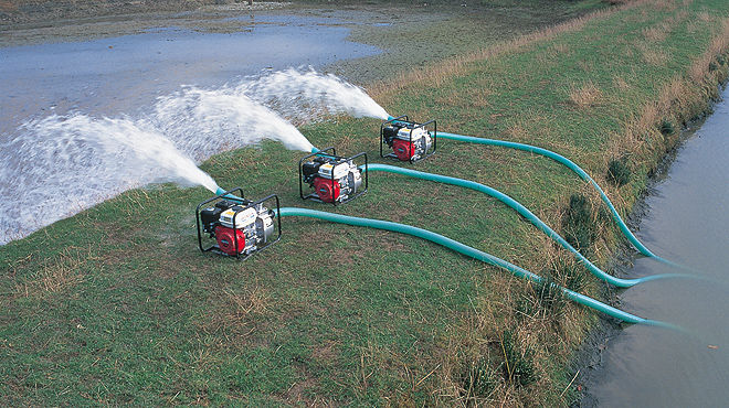 Water pumping for irrigation